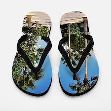 Beach sidewalk Flip Flops