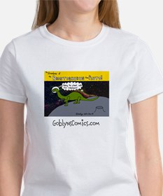 Womens Brontosaurus from Pluto T-Shirt