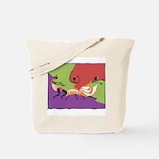Caribbean Limbo Dance Tote Bag