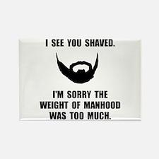 Shaved Manhood Magnets