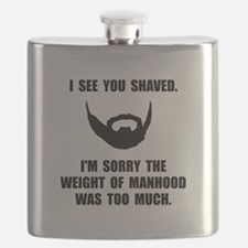 Shaved Manhood Flask