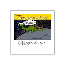Brontosaurus from Pluto Sticker