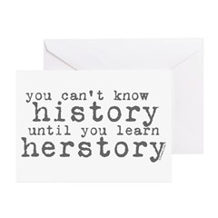 History vs. Herstory Greeting Cards (Pk of 10)