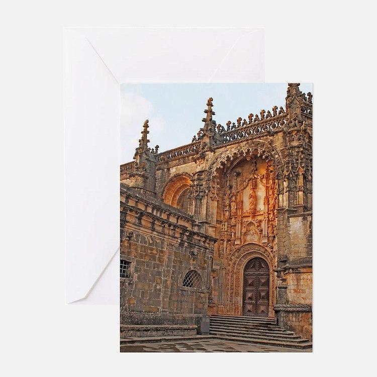 The Templar Church Greeting Card