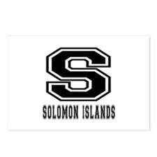 Solomon Islands Designs Postcards (Package of 8)