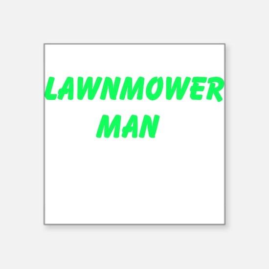 Lawnmower Man Sticker