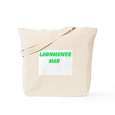 Lawnmower Man Tote Bag