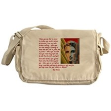 your society is doomed Messenger Bag