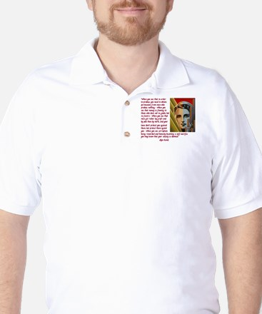 your society is doomed Golf Shirt