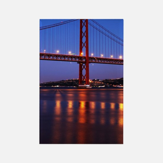 April 25th bridge Rectangle Magnet