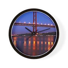 April 25th bridge Wall Clock
