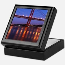 April 25th bridge Keepsake Box