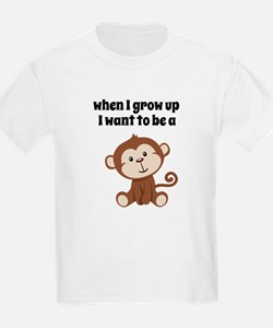 Grow Up to Be a Monkey T-Shirt