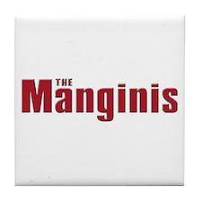 The Mangini family Tile Coaster