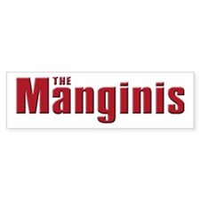 The Mangini family Bumper Bumper Sticker