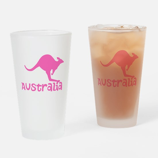 Australia Drinking Glass