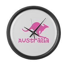 Australia Large Wall Clock