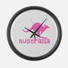 Australia Large Wall Clock