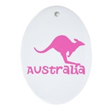 Australia Ornament (Oval)