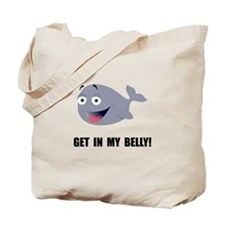 Whale Belly Tote Bag