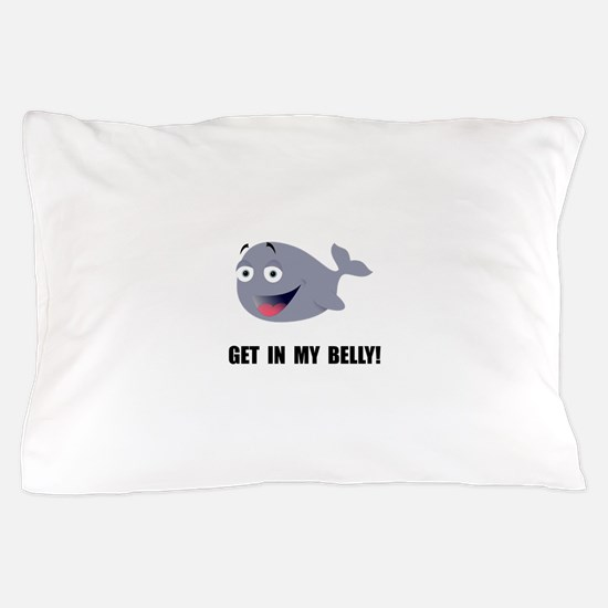 Whale Belly Pillow Case