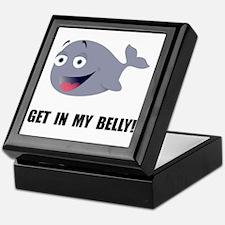 Whale Belly Keepsake Box