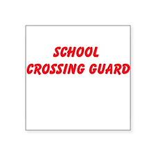 School Crossing Guard Sticker