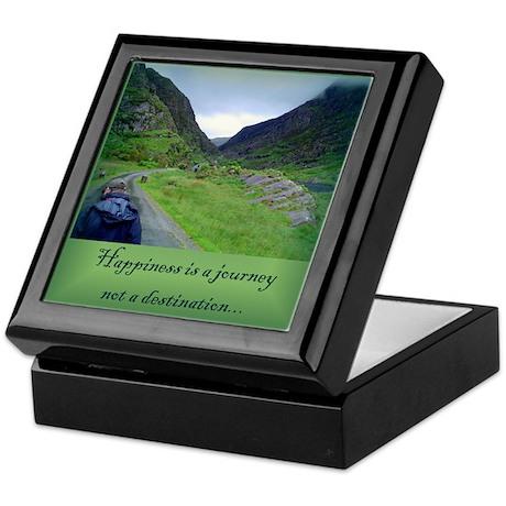 HAPPINESS IS A JOURNEY... Keepsake Box
