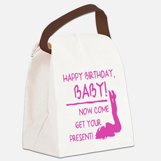 Sexy Birthday Gift For Men Canvas Lunch Bag