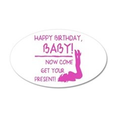Sexy Birthday Gift For Men Wall Decal