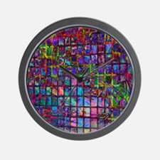 Thousand Pictures Wall Clock