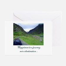 HAPPINESS IS A JOURNEY 2... Greeting Cards (Packag