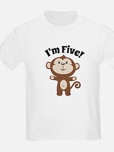 Monkey Im 5 T-Shirt