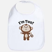 Monkey Im 2 Bib