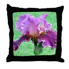 RAINBOW IRIS Throw Pillow