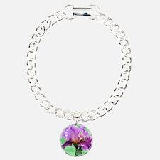 RAINBOW IRIS Charm Bracelet, One Charm