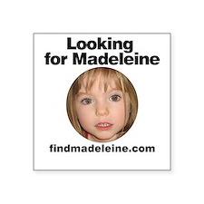 """Cool Madeleine Square Sticker 3"""" x 3"""""""