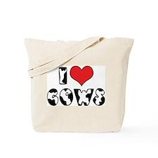 I Love Cows 2 Tote Bag