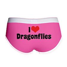 I Love Dragonflies Women's Boy Brief