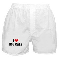 I Love My Cats 2 Boxer Shorts
