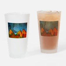 Scary Creatures Drinking Glass