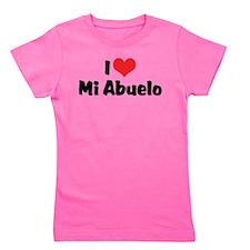 I Love Mi Abuelo Girl's Tee