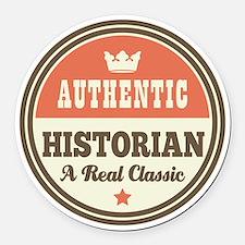 HIstorian Vintage Round Car Magnet