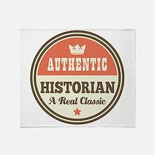 HIstorian Vintage Throw Blanket