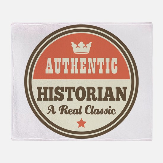 HIstorian Vintage Throw Blanket