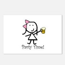 Beer - Party Time Postcards (Package of 8)