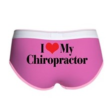 I Love My Chiropractor Women's Boy Brief