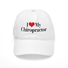 I Love My Chiropractor Baseball Cap