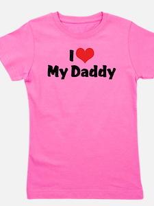 I Love My Daddy Girl's Tee