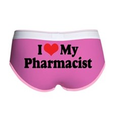 I Love My Pharmacist Women's Boy Brief